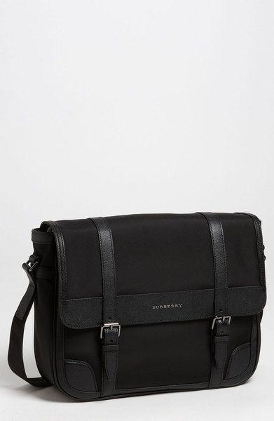 Burberry Black Messenger Bag