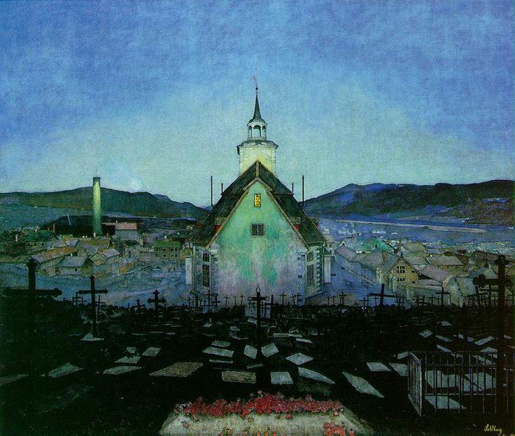 Night - Harald Sohlberg 1904