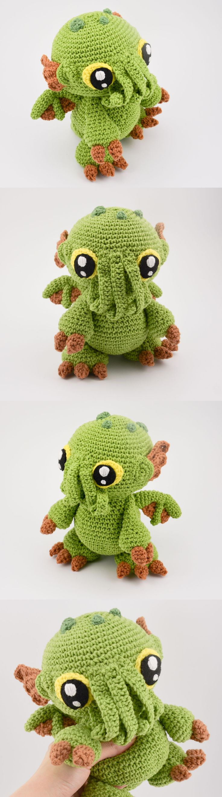 Best 25 crochet cthulhu pattern ideas on pinterest halloween krawka cthulhu baby monster from the abyss lovecraft inspired crochet pattern by krawka https bankloansurffo Choice Image
