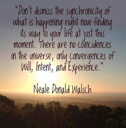 There are no coincidences! #quotes Neale Donald Walsch