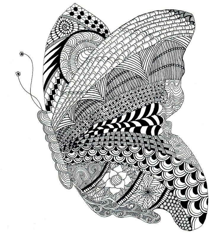 61 best images about Zentangle Insects on Pinterest | Best ...