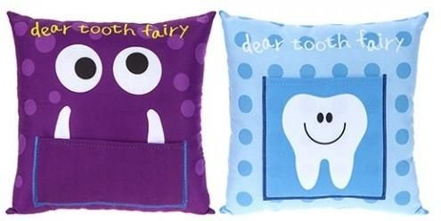 Boys Tooth Fairy Cushion (more options) (PRE ORDER)