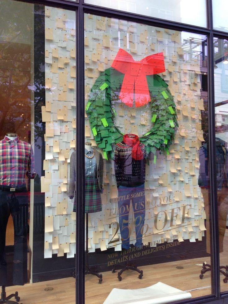 25 einzigartige schaufensterdekoration weihnachtsgesch ft ideen auf pinterest winter fenster - Schaufensterdekoration weihnachten ...