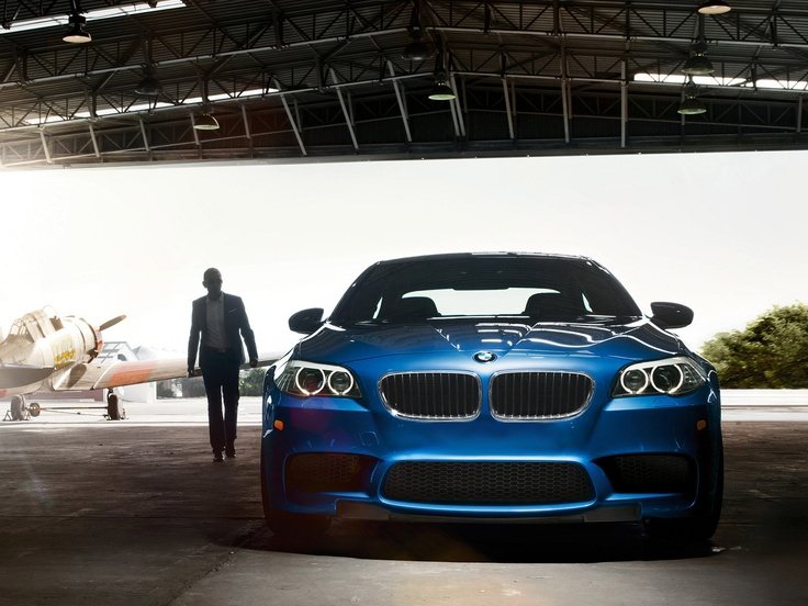 Love at first drive. BMW M-5
