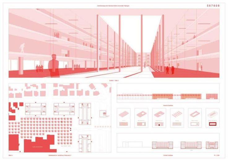 Yi Architects · Zentralcampus der Eberhard Karls Universität Tübingen