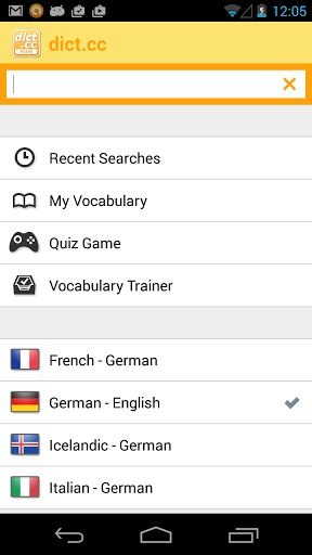 """dict.cc dictionary v7.0   dict.cc dictionary v7.0 Requirements:2.2 and up Overview:Dictionary for 51 language combinations usable without an internet connection (offline dictionary). Vocabularies can bedownloadedand updated within the app for free.  Dictionary for 51 language combinations usable without an internet connection (offline dictionary). Vocabularies can bedownloadedand updated within the app for free.  Before you buy please test thefree versionof the app (""""dict.cc"""")! Using this…"""