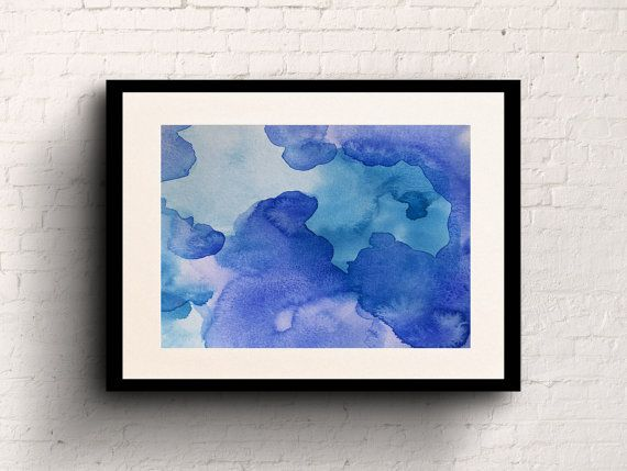 Water  8x10 Watercolour Art Print by sarahsmileart on Etsy