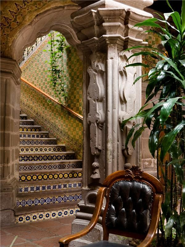 All things Mexico.(via Madero - San Miguel De Allende - MX - - Home for Sale - NYTimes Great Homes) Casa de la Marquesa Mexico, San Miguel de Allende