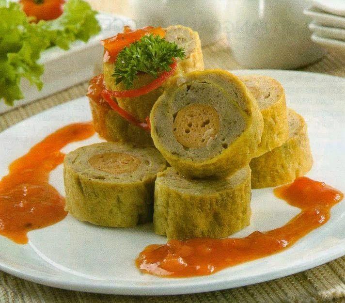 Resep Membuat Rolade Sosis Enak Praktis Dirumah Resep Resep Masakan Indonesia Resep Masakan