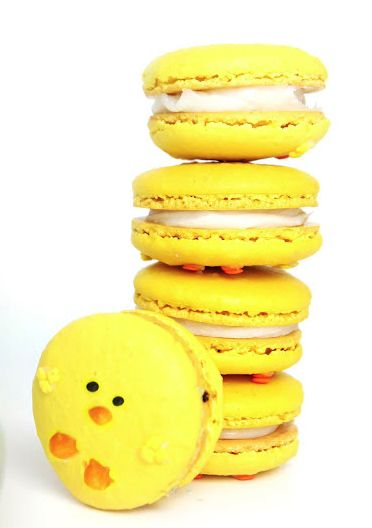Easter 2014: Delectable desserts for Easter, chickadee French macaroons - Hubub