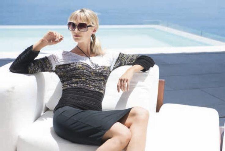 67 best images about filati no 47 sommer 2014 on pinterest vests flu and argentina - Lana grossa diva ...