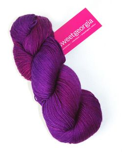 Sweet Georgia Tough Love Sock-love this yarn...