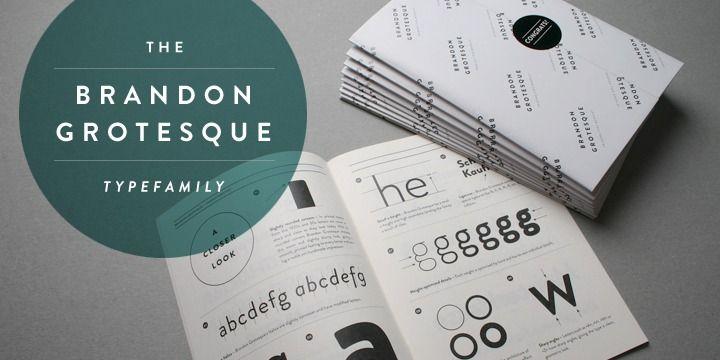 Brandon Grotesque - Webfont & Desktop font « MyFonts