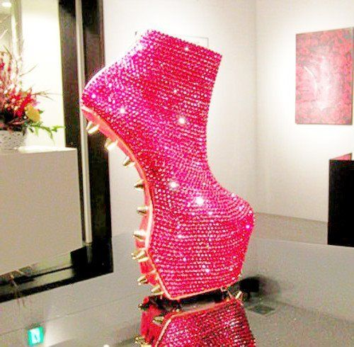 when I decide to cross dress as a drag queen, this is the shoe.