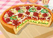 Пицца в сказочном замке. беларусь