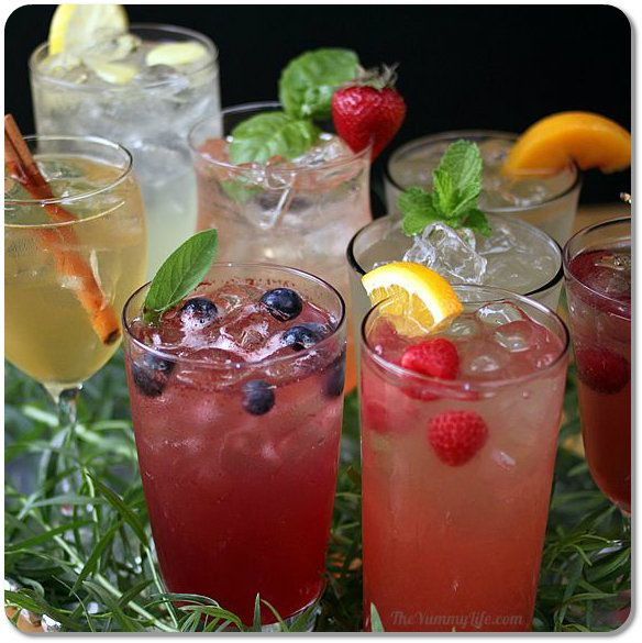 17 best images about food and drink on pinterest for Sparkling water mixed drinks