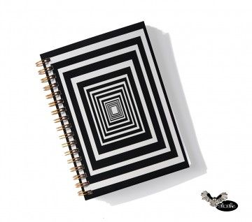 Geometric notebook by Sloshe