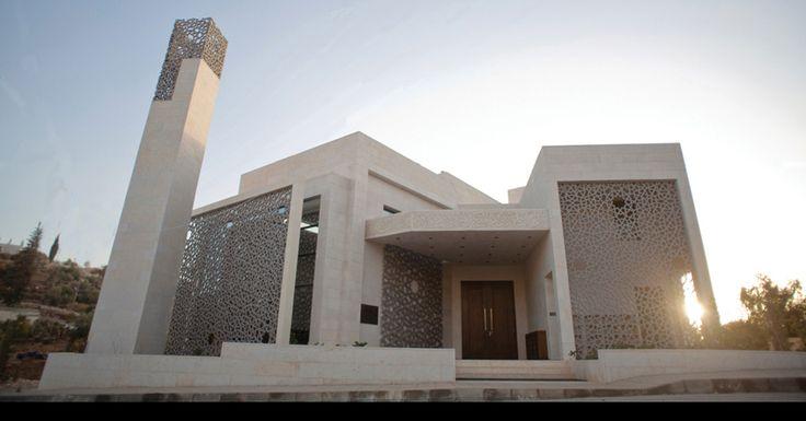 Al Rawda Mosque, Amman. By UN Architects