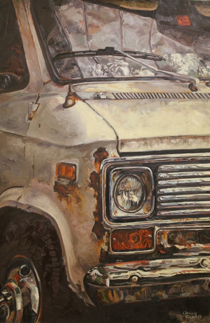 tumblropenarts:    'Scrap car' by Ashley Pelletier  http://www.metalrecyclers-brisbane.com.au/