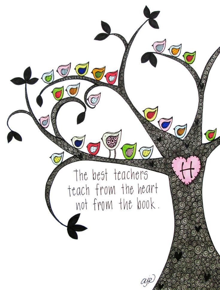 Teacher Love, personalized teacher gift