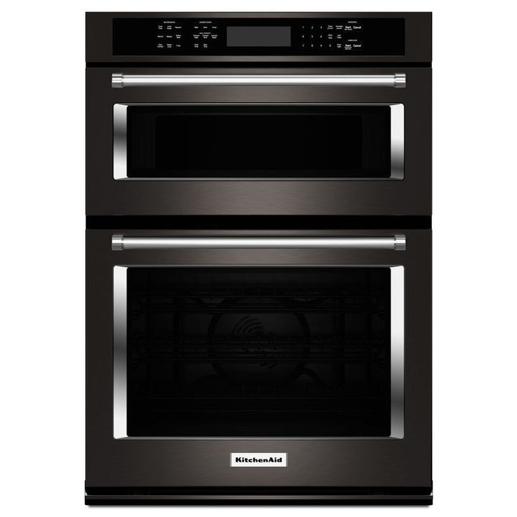 Kitchenaid Self Cleaning Convection Microwave Wall Oven Combo Common 30 In