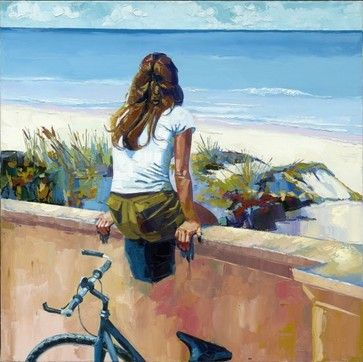 Shannon Kincaid - mediterranean - artwork - dallas - by The Art Menu