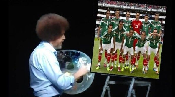 selección mexicana lista mundial meme bob ross - Changoonga.com | Noticias y Desmadre para el Mundo