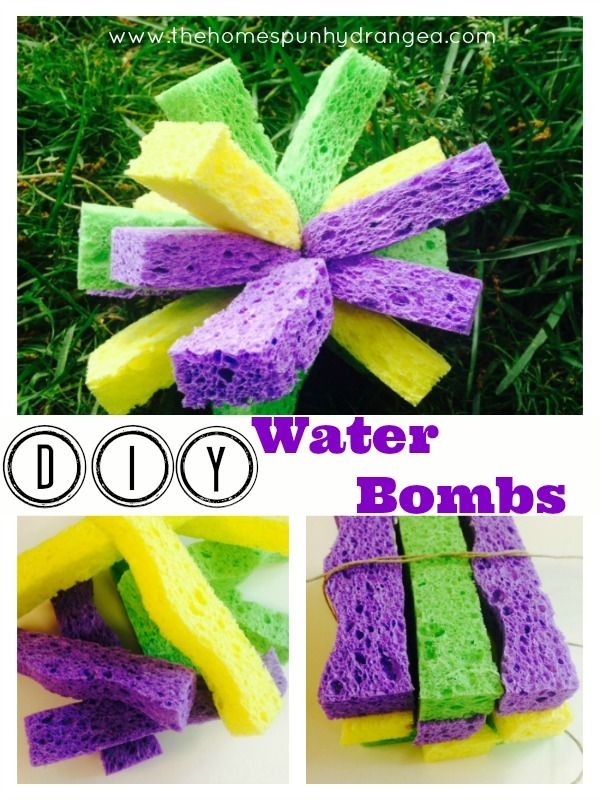 Water Bomb Craft for Kids! Make this easy DIY to help your children cool off this summer. This is a fun craft to beat the heat.