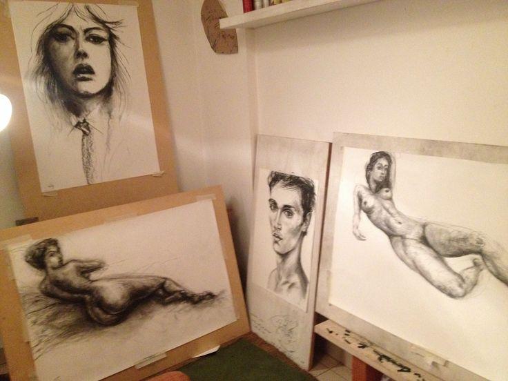 Craig's studio
