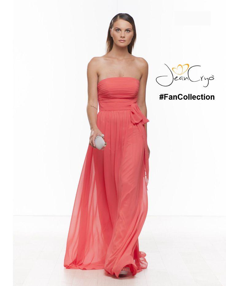 #FanCollection abito in chiffon senza spalline,con bustino drappeggiato #corallo #pink #rosa Piace a Stefania #modaDonna #fashion #fashionista #fashionlife #style #look #outfit #outfitidea #spring #sprinsummer #ss15 #dress #elegance #party #cocktaildress #abitocerimonia #specialevent #glamour #moda #abitolungo #