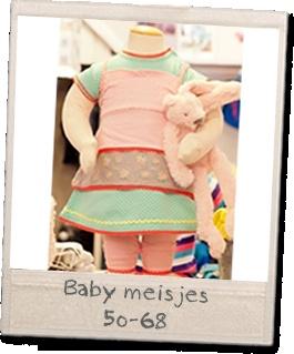 Baby meisjes, maatjes 50-68