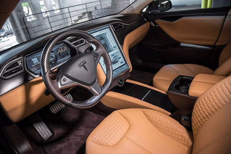 customized #Tesla Model S interior | (by: T Sportline)