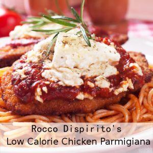 GMA: Rocco Dispirito's Low Calorie Chicken Parmigiana Recipe
