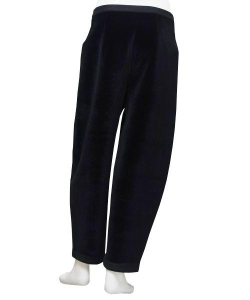 Henrik Vibskov - SOAKING VELVET PANTS (BLACK)  http://www.raddlounge.com/?pid=94883154 #StreetSnap #Style #RaddLounge #WishList #Deginer #StyleCheck #Kawaii #FashionBlogger #Fashion #Shopping #UnisexWear #WomansWear #aw15 #HenrikVibskov