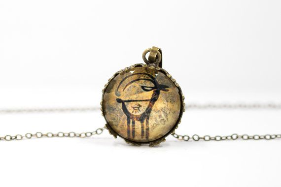 Antelope necklace [Cave Art Collection]