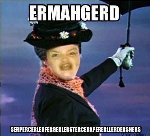 Ermahgerd! Mery Perpins!: Funny Funny, Funny Things, Mary Poppins, Laughing So Hard, Funny Shit, Funny Stories, Funny Commercial, Funny Stuff, Funny Photo