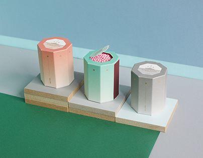 """Check out new work on my @Behance portfolio: """"OIMU Octagonal Matchbox"""" http://on.be.net/1dnDdsk #OIMU #matchbox #octagon"""