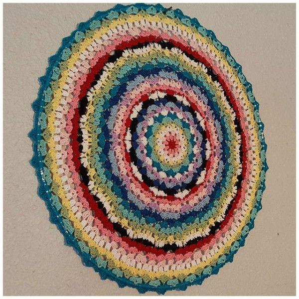 40+ Crochet patrones de Mandala
