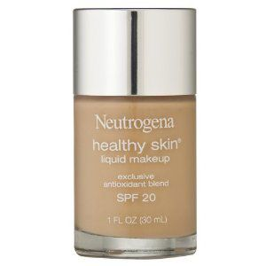 Top 5 best foundations (drugstore prices) I pinned this picture because I SWEAR by Neutrogena foundation- it's so good for your skin and light that you can sleep with it on without breakouts! It also leaves you with a dewy glow :)