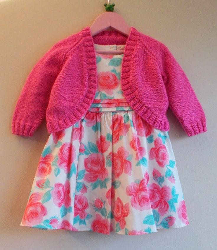 marianna's lazy daisy days - Pink Sparkle Bolero