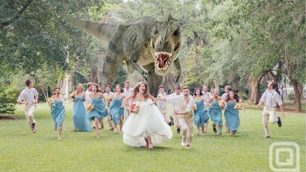 For my sister. Is this the best wedding photo ever?