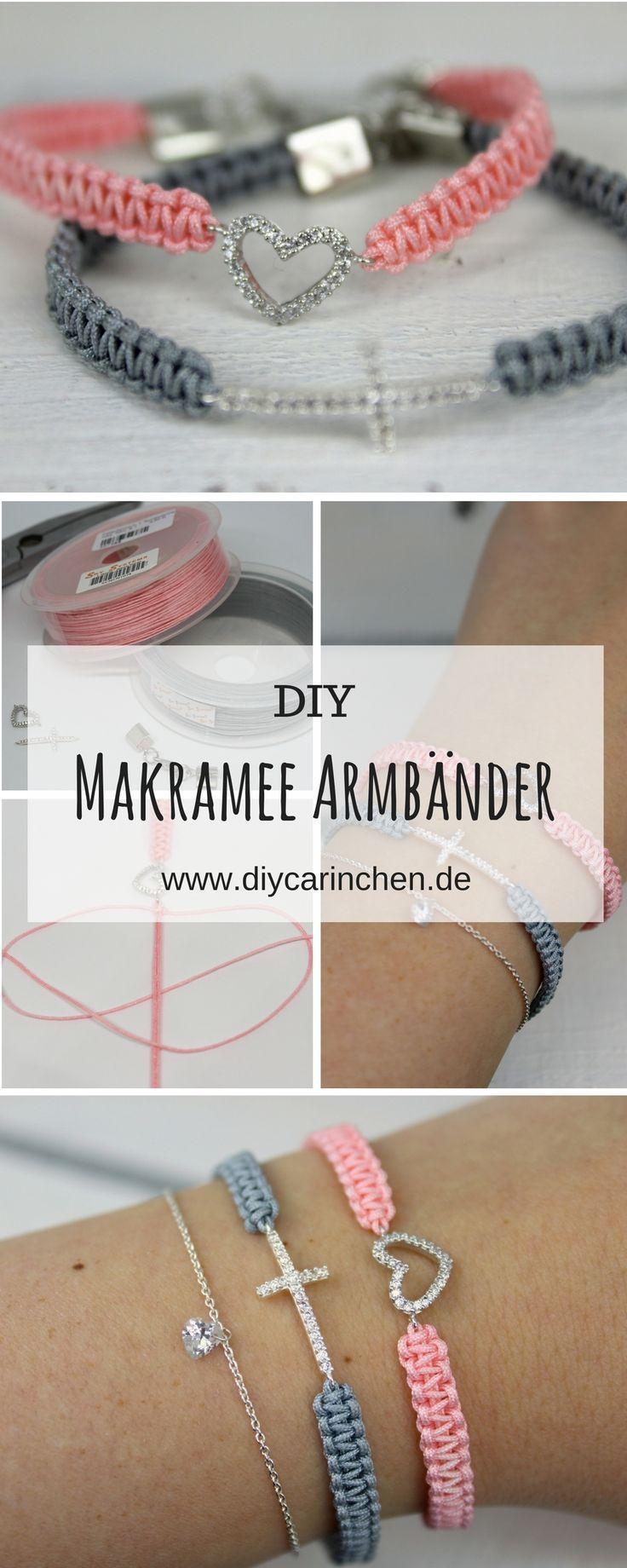 DIY Makramee Armbänder selber knüpfen - mit dieser Schritt ...