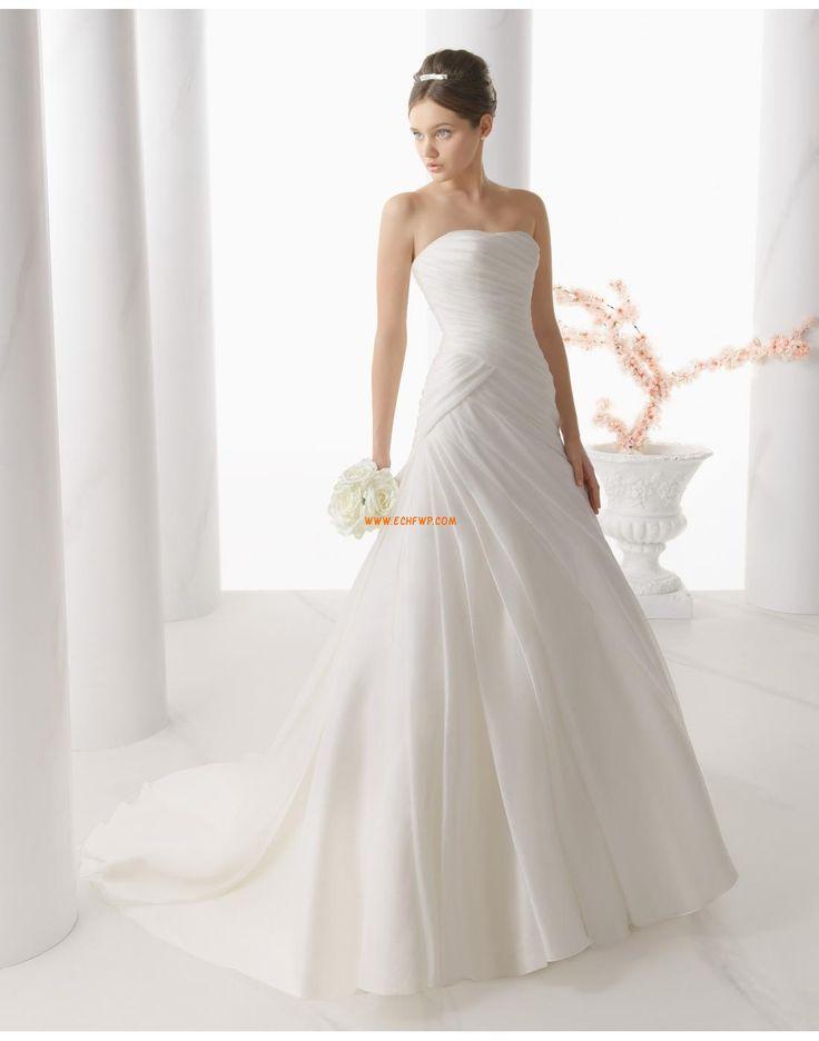 98 best Romantiske brudekjoler images on Pinterest   Wedding frocks ...