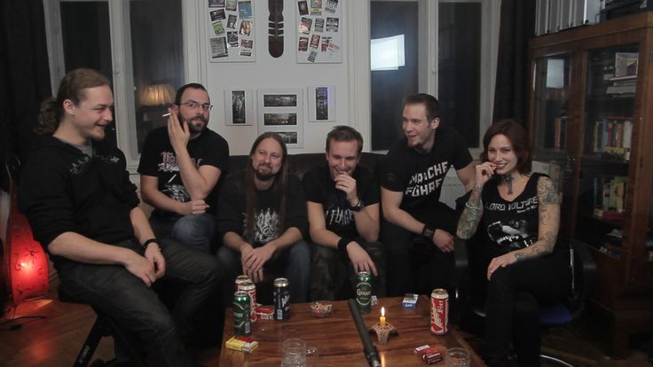 Had a chat with upcoming viennese Metalband #Esseker