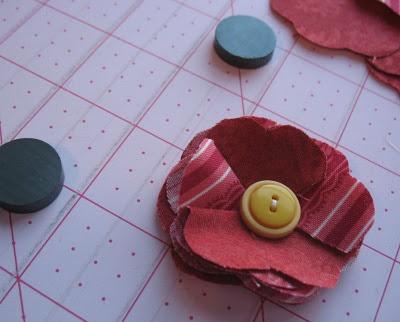 Flower Magnet Tutorial