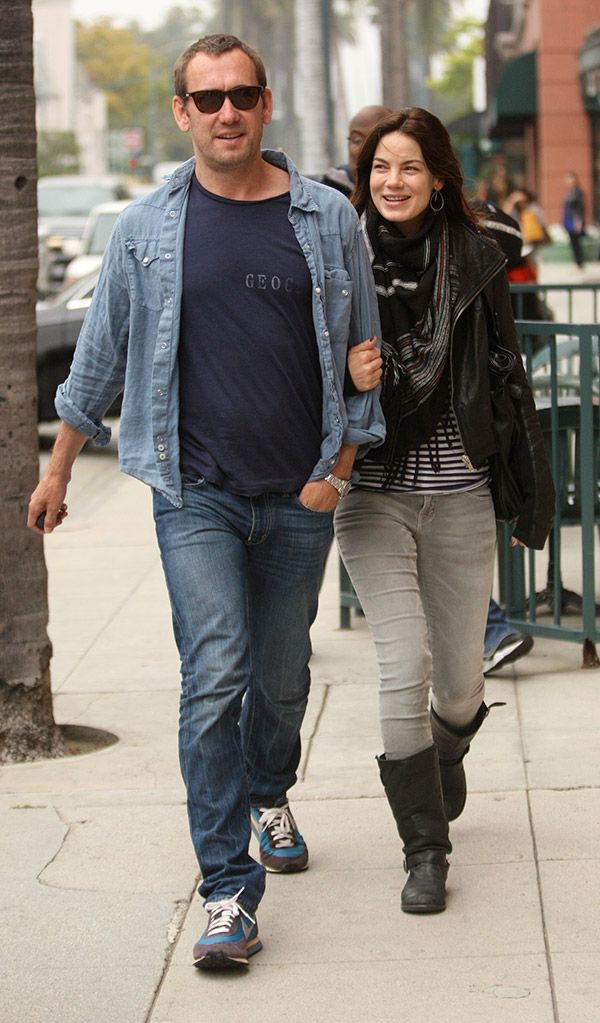 Michelle Monaghan & husband Peter White