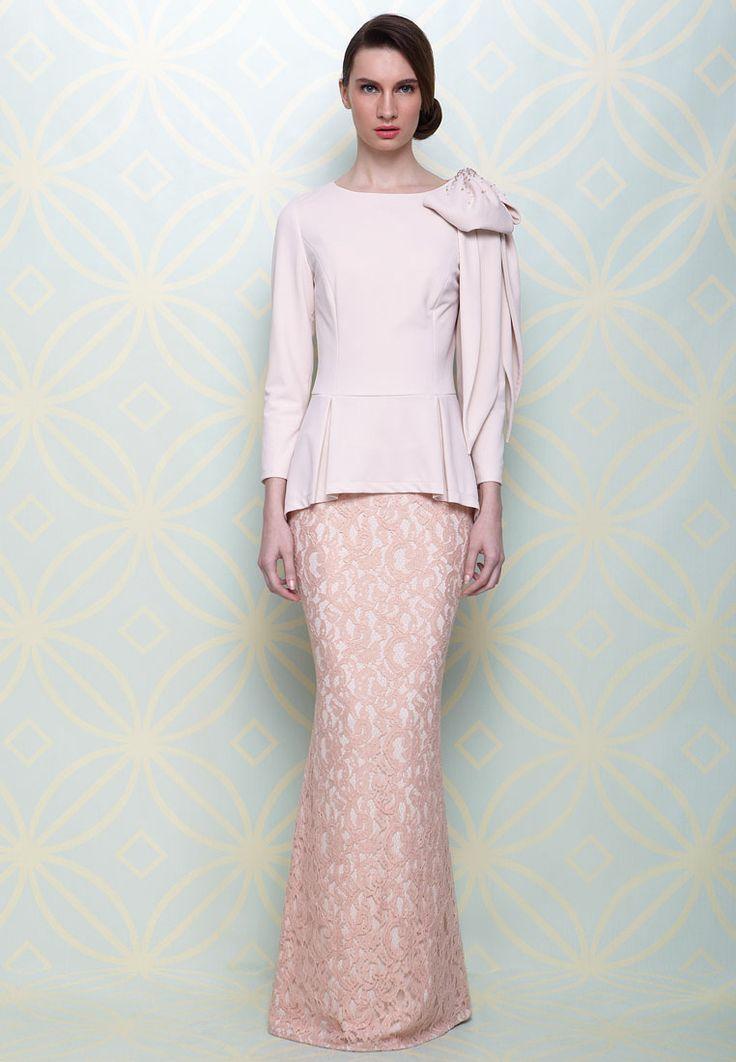 LS for Jovian Jihan Peplum Baju Kurung | ZALORA Singapore