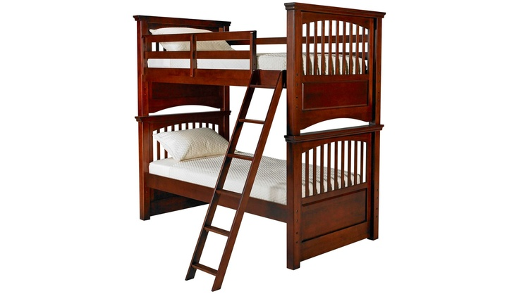 Legacy - American Spirit - Twin over Twin Bunk Bed - Bunk Beds for Sale in MA, NH and RI at Jordan's Furniture