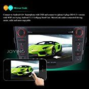 JOYING 7″ Quad Core Android 5.1 Car Radio DVD Player for Toyota RAV4 2006-2011 Support Steering Wheel Control WiFi 1024600 Capacitive Touch Screen Car Stereo GPS Navigation Head Unit with Bluetooth