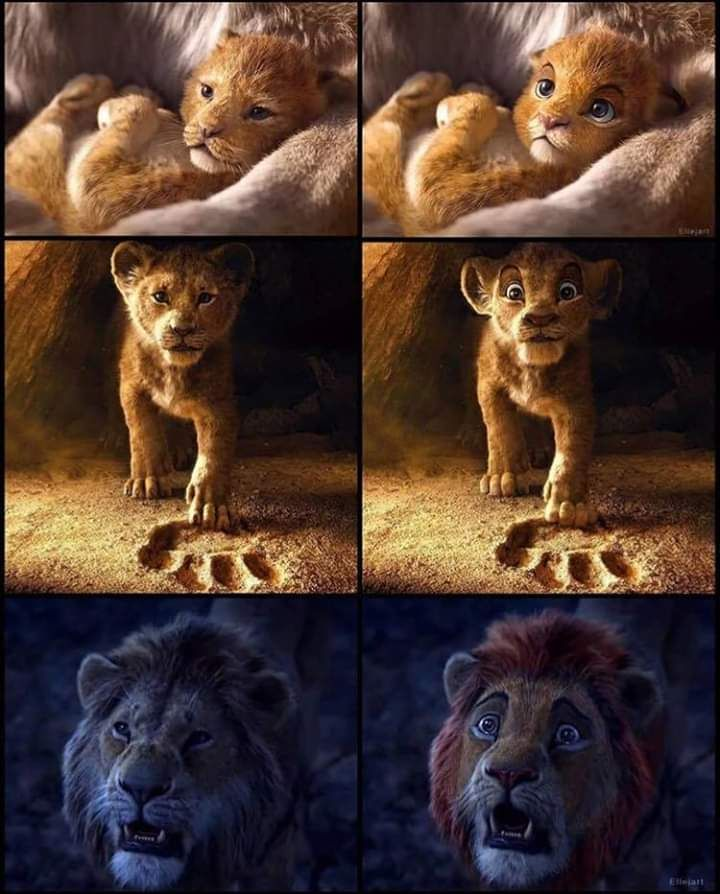 What If The Animals In The Live Action Lion King Movie Had
